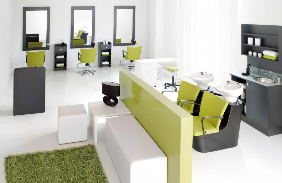 Cde cara collection friseursalon set mali cde salondesign - Ideas para decorar una peluqueria ...