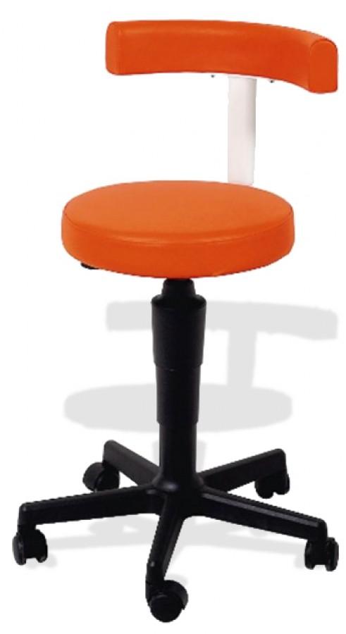 karisma rollhocker mit lehne pivot 1 cde salondesign. Black Bedroom Furniture Sets. Home Design Ideas