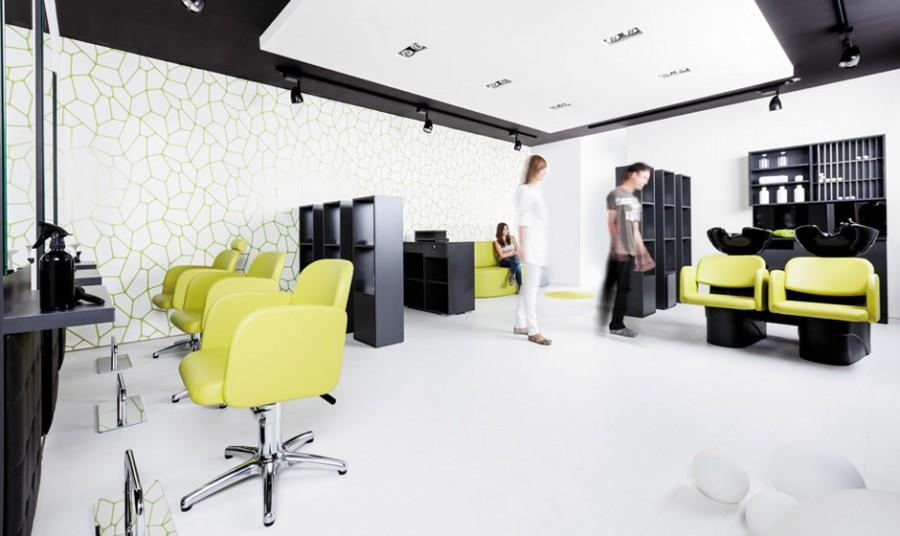 Komplette saloneinrichtung pahi cool cut cde salondesign - Interiores de peluquerias ...