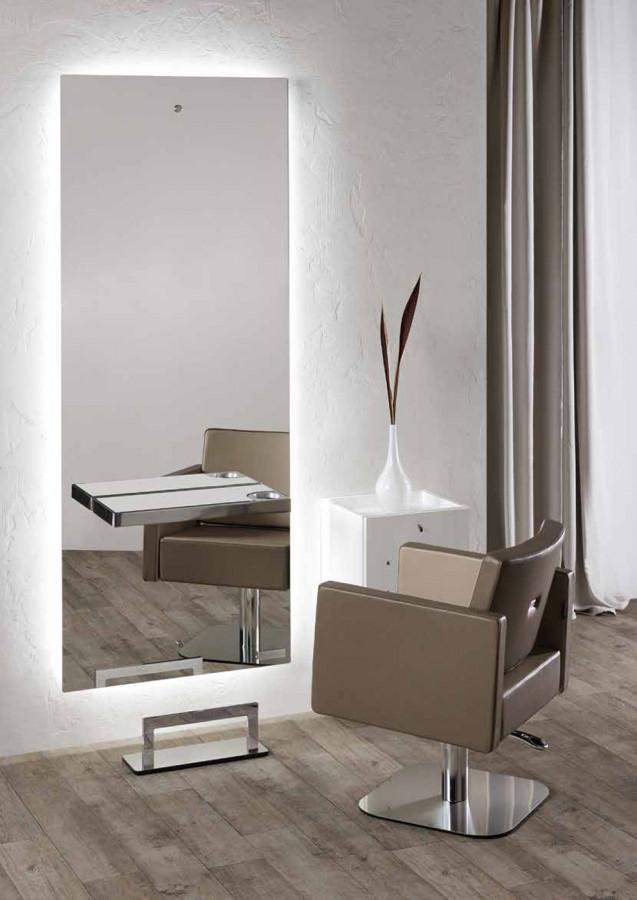 Salon ambience spiegel space cde salondesign - Spiegel salon ...