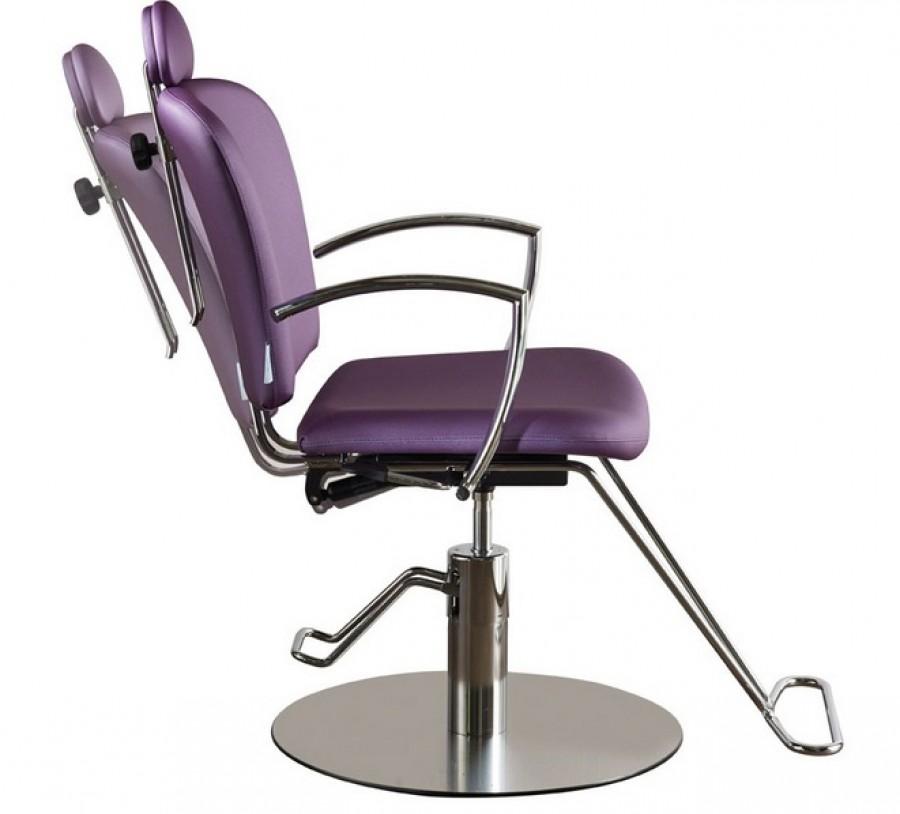 salon ambience stuhl miranda mit fu st tze cde salondesign. Black Bedroom Furniture Sets. Home Design Ideas
