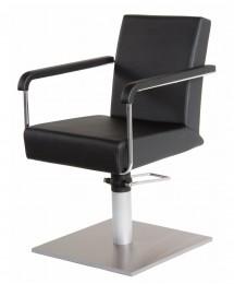 greiner friseurstuhl mit rollen und bremse doppelstopper. Black Bedroom Furniture Sets. Home Design Ideas