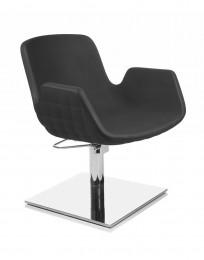 friseurstuhl mit rollen und bremse doppelstopper. Black Bedroom Furniture Sets. Home Design Ideas