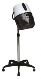 Salon Ambience Elektro BLACK HOOD DRYER WITH BASE, ONE SPEED