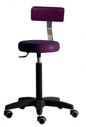 Salon Ambience Hocker GILERA STOOL WITH BACKREST