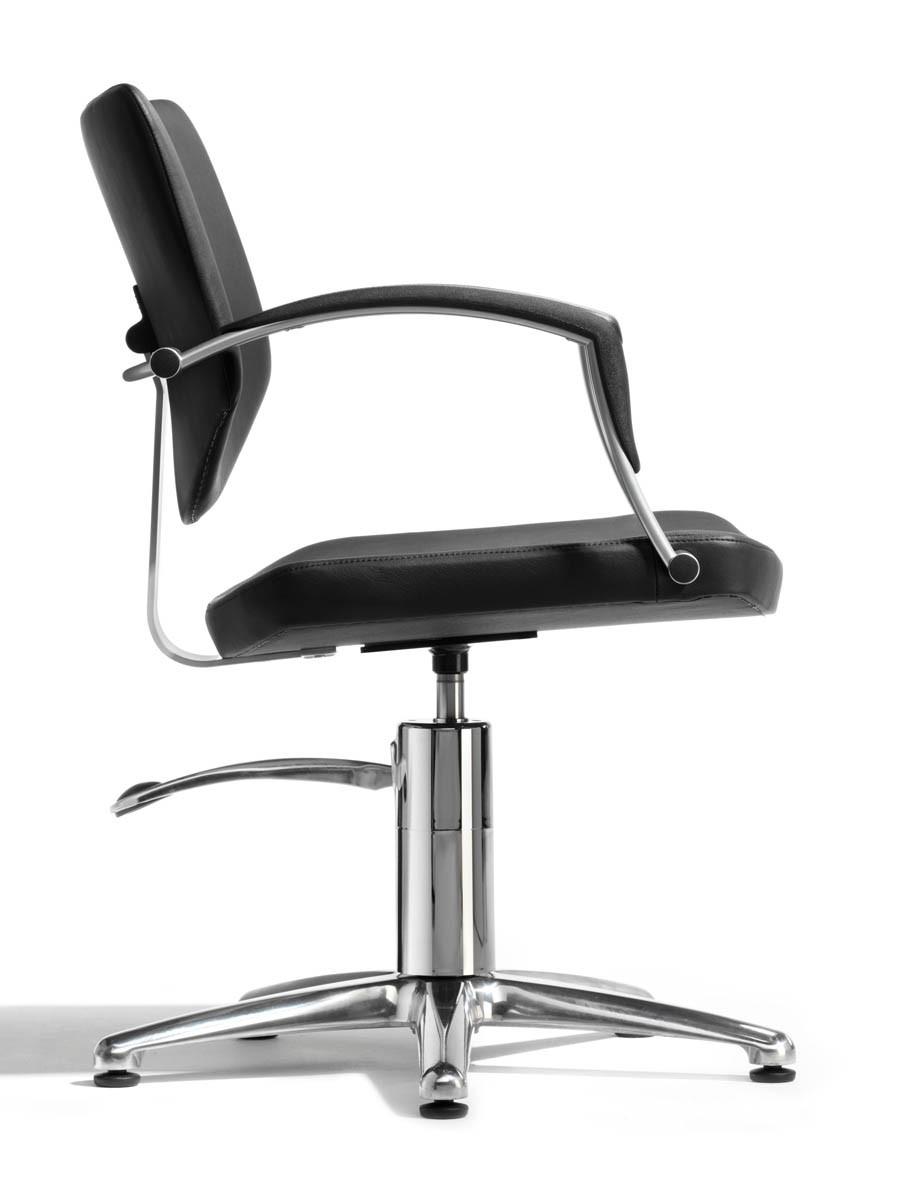 alteq friseurstuhl knock rollen stopper bewegliche r ckenlehne cde salondesign. Black Bedroom Furniture Sets. Home Design Ideas