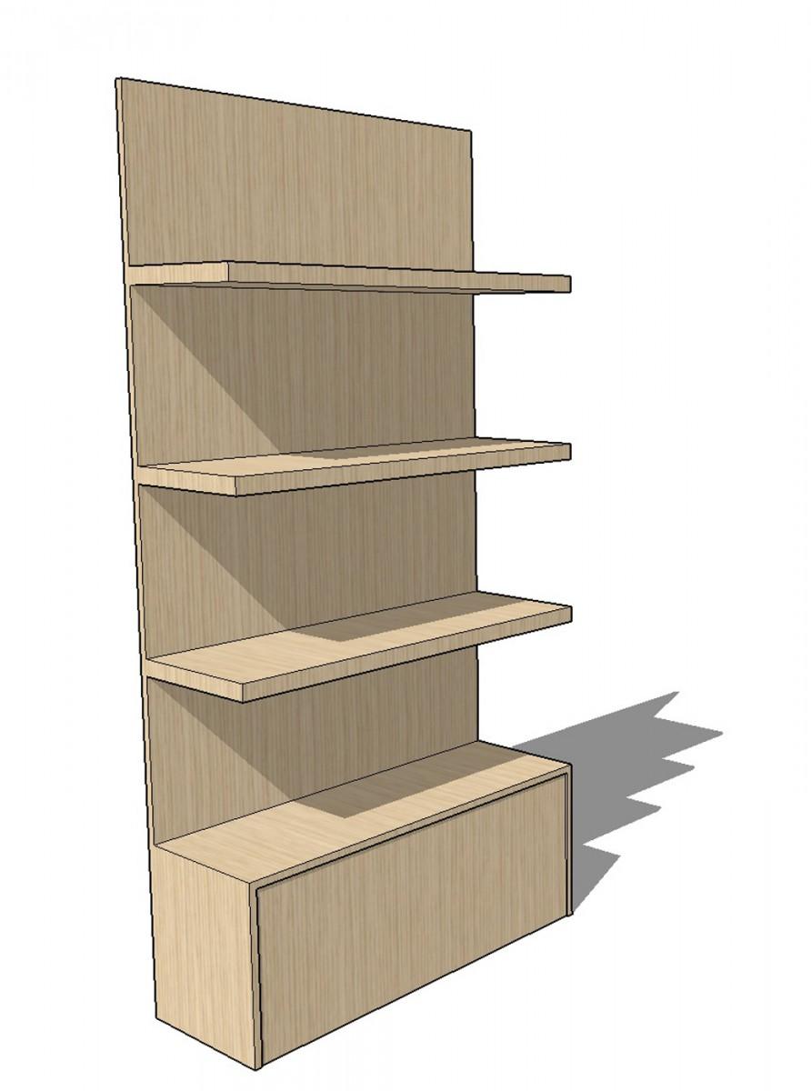 cde individual regal 100 cm cde salondesign. Black Bedroom Furniture Sets. Home Design Ideas
