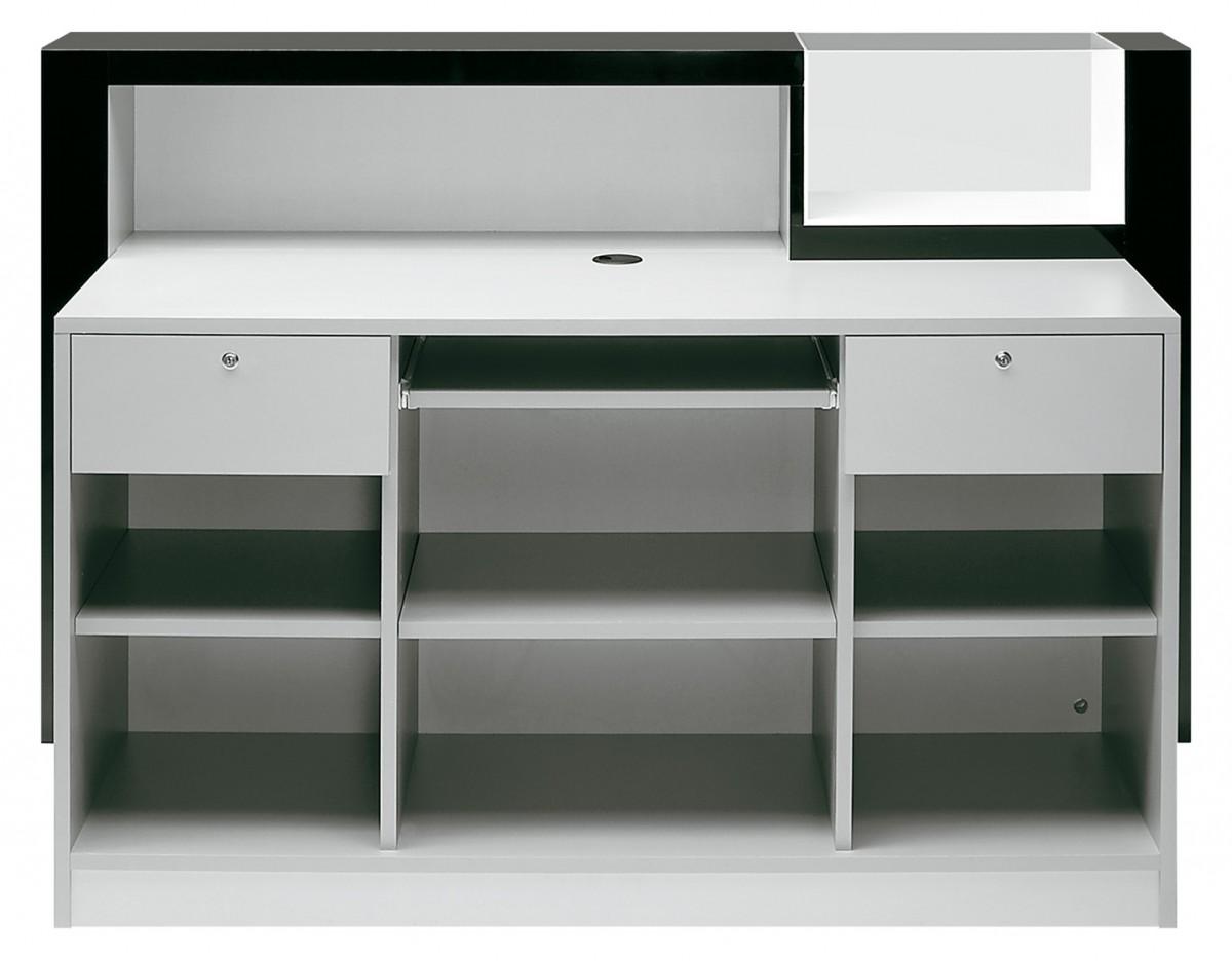 karisma theke guess weiss hochglanz beleuchtet cde salondesign. Black Bedroom Furniture Sets. Home Design Ideas