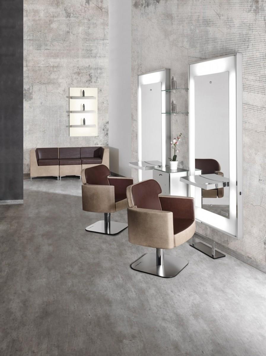 Salon ambience stuhl dea cde salondesign for Karisma arredamenti parrucchieri