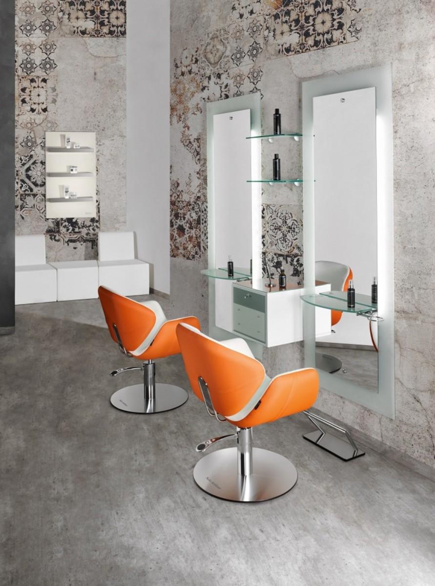 Salon ambience stuhl olimpia ii cde salondesign for Karisma arredamenti parrucchieri